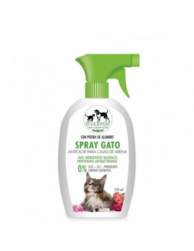 SPRAY ANTIOLOR PARA CAJAS DE ARENA 250 ML - TAMAÑO: 250 ML