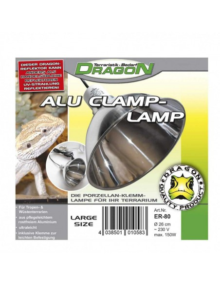 LÁMPARA DE ALUMINIO ALU CLAMP LAMP - MODELO: PEQUEÑA (Ø 14 CM - MAX 60W)