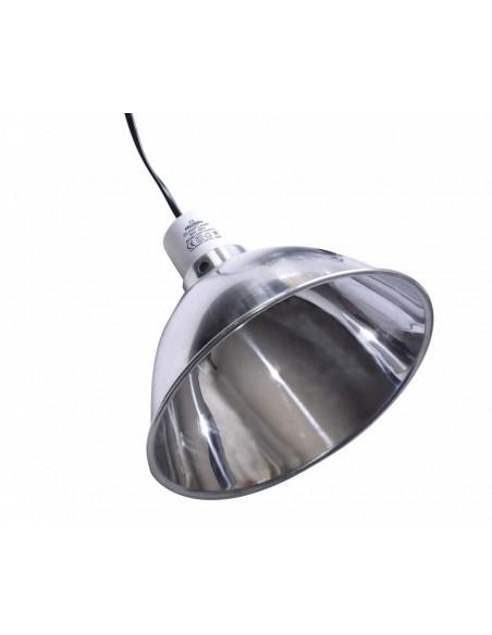 LÁMPARA DE ALUMINIO ALU CLAMP LAMP - MODELO: PEQUEÑA (Ø 14 CM - MAX 60W) - 1