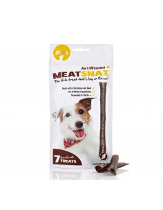 MEATSNAX GOLOSINAS ANTIPARÁSITOS NATURAL 85G - TAMAÑO: 85 GR