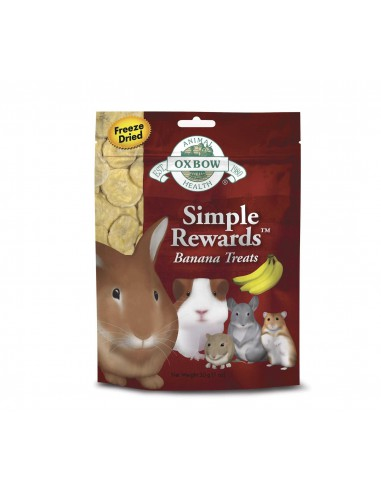 OXBOW SIMPLE REWARDS PLATANO 30 GR - TAMAÑO: 30 GR