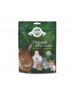 OXBOW ORGANIC BARLEY BISCUITS GALLETAS ECOLOGICAS 75 GR