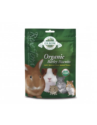 OXBOW ORGANIC BARLEY BISCUITS GALLETAS ECOLOGICAS 75 GR - TAMAÑO: 75 GR