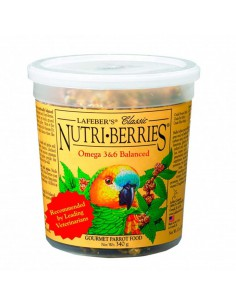NUTRI-BERRIES CLÁSICOS PARA LOROS TAMAÑO 340 GR
