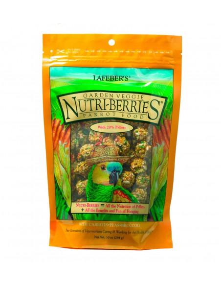 NUTRI-BERRIES JARDÍN VEGETAL PARA LOROS