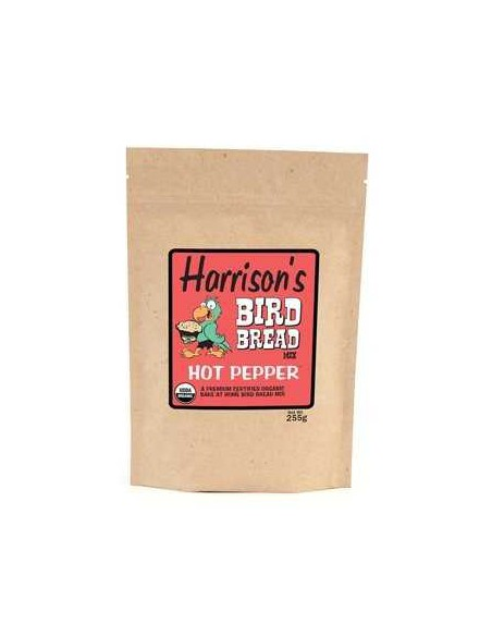 HARRISONS BIRD BREAD HOT PEPPER - 255 GR