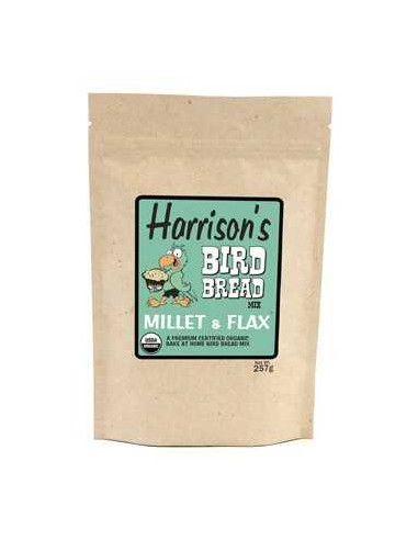 HARRISONS BIRD BREAD MILLET & FLAX 255 GR - TAMAÑO: 255 GR