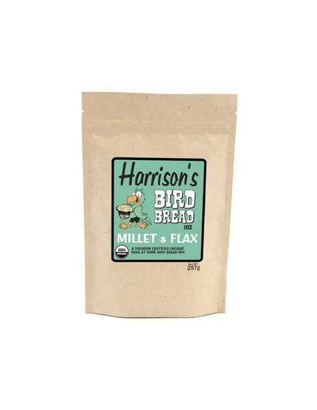 HARRISONS BIRD BREAD MILLET & FLAX - 255 GR