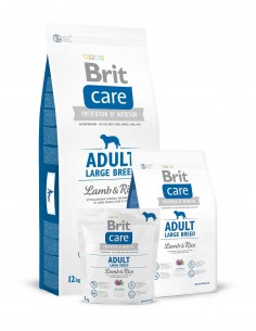 BRIT CARE ADULT LARGE BREED LAMB & RICE - TAMAÑO: 1 KG
