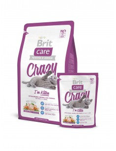 BRIT CARE CAT CRAZY IM KITTEN - TAMAÑO: 400 GR