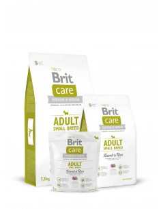 BRIT CARE ADULT SMALL BREED LAMB & RICE - TAMAÑO: 1 KG