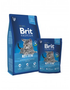 BRIT PREMIUM CAT KITTEN - TAMAÑO: 1,5 KG