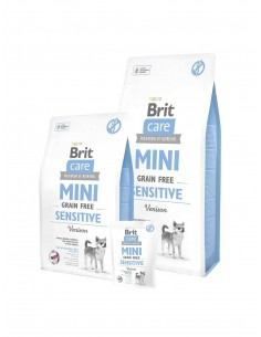 BRIT CARE MINI GRAIN FREE SENSITIVE - TAMAÑO: 400 GR