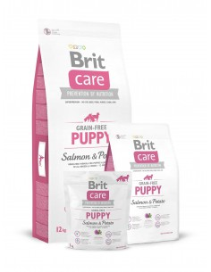 BRIT CARE GRAIN-FREE PUPPY SALMON & POTATO - TAMAÑO: 1 KG