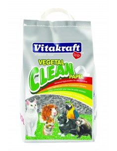 VITAKRAFT VEGETAL CLEAN PAPEL - TAMAÑO: 10 LITROS