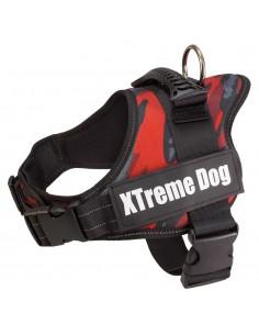 XTREME DOG CAMO - TALLA: S - COLOR: ROJO CAMUFLAJE