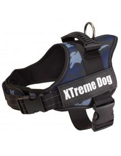 XTREME DOG CAMO - TALLA: S - COLOR: AZUL CAMUFLAJE