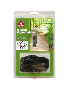 DOG CONTROL AJUSTABLE - COLOR: NEGRO - TALLA: S
