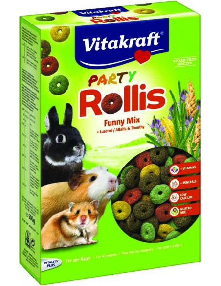 VITAKRAFT PARTY ROLLINS - TAMAÑO: 500 GR