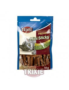 PREMIO MINI STICKS POLLO Y ARROZ - TAMAÑO: 50 GR