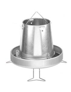 TOLVA METÁLICA CON PATAS COPELE - TAMAÑO: Ø33 X 25 CM (5 KG)