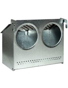 COMEDERO PLEGABLE COFLEX - 2 DEPARTAMENTOS COPELE - MODELO: TAPA DE CHAPA