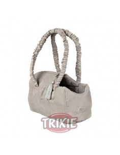 BOLSO KING OF DOGS - COLOR: BEIGE - TAMAÑO: 12 X 17 X 25 CM