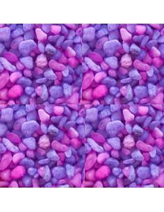 GRAVA ACUARIOS LIBRA MORADA (3-5 MM) - TAMAÑO: 1 KG