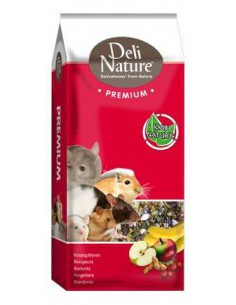 DELI NATURE PREMIUM CHINCHILLAS - TAMAÑO: 15 KG