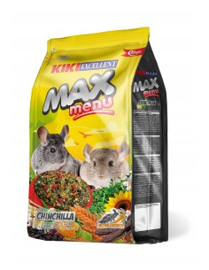 KIKI MAX MENU CHINCHILLAS - TAMAÑO: 2 KG