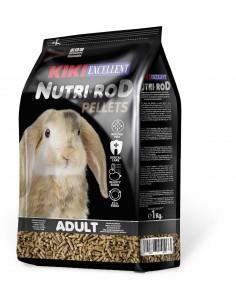 KIKI NUTRI-ROD PARA CONEJOS - TAMAÑO: 1 KG