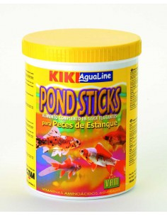 KIKI POND STICKS - PECES DE ESTANQUE - TAMAÑO: 120 GR