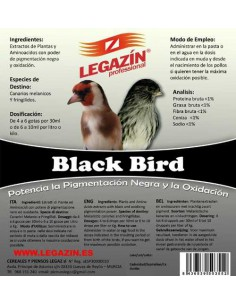 LEGAZÍN PROFESSIONAL BLACK BIRD - TAMAÑO: 160 ML