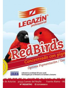 LEGAZÍN PROFESSIONAL RED BIRDS - TAMAÑO: 200 GR