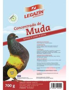 LEGAZÍN PROFESSIONAL CONCENTRADO DE MUDA PALOMAS - TAMAÑO: 700 GR