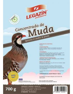 LEGAZÍN PROFESSIONAL CONCENTRADO DE MUDA PERDICES - TAMAÑO: 700 GR