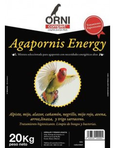 ORNI COMPLET AGAPORNIS ENERGY - 20 KG