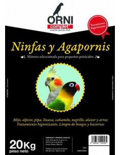 ORNI COMPLET MIX NINFAS Y AGAPORNIS