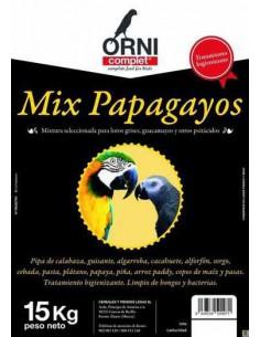 ORNI COMPLET MIX PAPAGAYOS - TAMAÑO: 800 GR