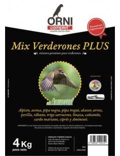 ORNI COMPLET MIX VERDERONES PLUS - TAMAÑO: 4 KG