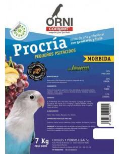ORNI COMPLET PROCRÍA PEQUEÑOS PSITÁCIDOS - TAMAÑO: 800 GR