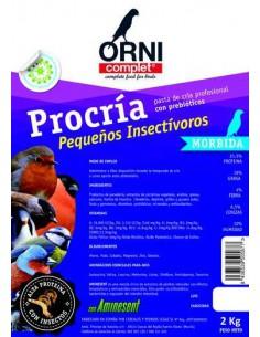 ORNI COMPLET PROCRÍA PEQUEÑOS INSECTÍVOROS - TAMAÑO: 800 GR
