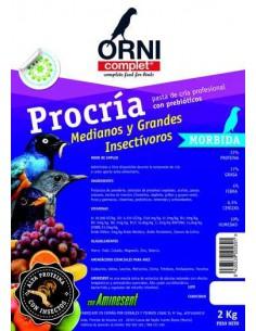 ORNI COMPLET PROCRÍA MEDIANOS Y GRANDES INSECTÍVOROS - TAMAÑO: 800 GR