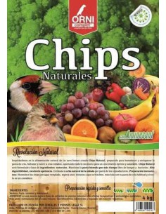 ORNI COMPLET CHIPS NATURALES - TAMAÑO: 800 GR
