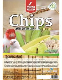 ORNI COMPLET CHIPS NATURALES SIN DORÉ - TAMAÑO: 800 GR