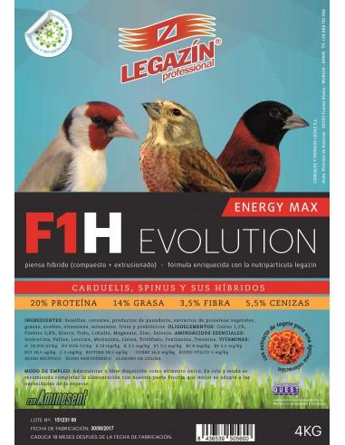 PIENSO LEGAZÍN F1H EVOLUTION - TAMAÑO: 800 GR