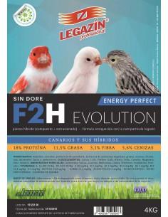 PIENSO LEGAZÍN F2H EVOLUTION - TAMAÑO: 800 GR
