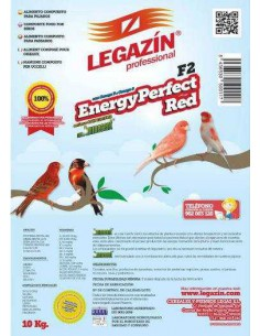PIENSO LEGAZÍN F2 ENERGY PERFECT RED - TAMAÑO: 1 KG
