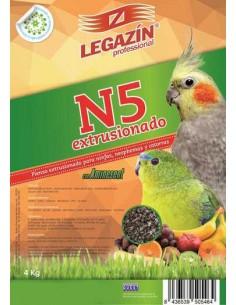 PIENSO LEGAZÍN N5 EXTRUSIONADO - TAMAÑO: 800 GR