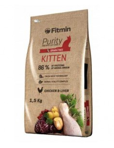 FITMIN PURITY KITTEN - TAMAÑO: 1,5 KG
